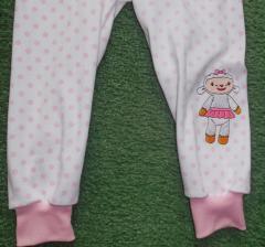 Kids Pajamas with Lambie embroidery design