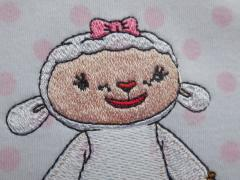 Lambie the sheep from Doc McStuffins series head