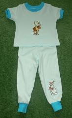 Kids pajamas with Sven the Reindeer and Olaf the Snowman