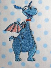Kids' pajamas with Stuffy Mc Stuffins embroidery design