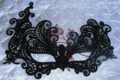 Mask lace fsl embroidery design