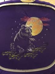 Hoop with Panther free embroidered design