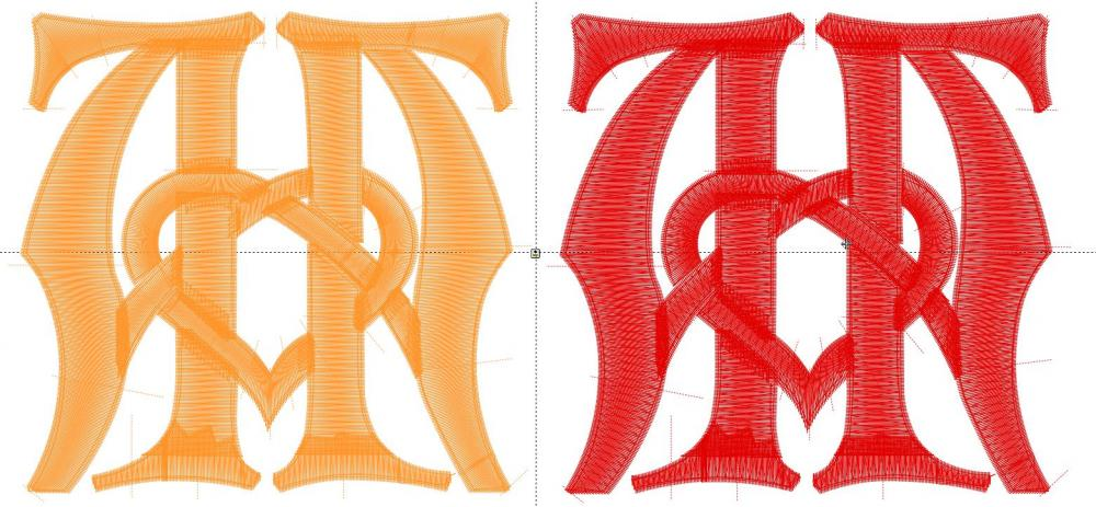 3d puff embroidery design digitizing