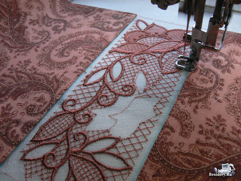 Luxury Lace Embroidery Patterns Gallery - Easy Scarf Knitting ...