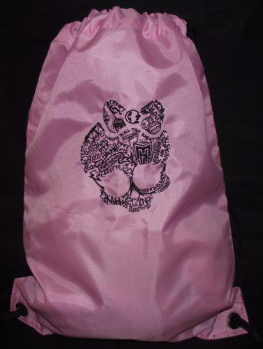 Monster high logo embroidered bag