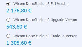 wilcom e3 price - Wilcom software - Machine embroidery community