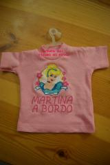 Shirt with Cinderella embroidery design