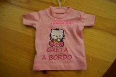 Newborn outfit with Hello Kitty Baby Bib embroidery design
