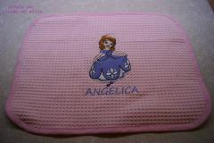 Napkin with Sofia The First embroidery design