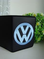 Volkswagen logo embroidery design