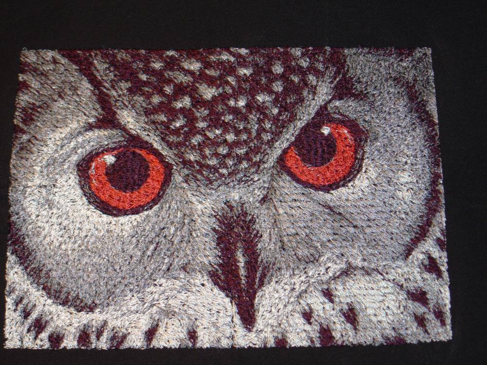 Night hunter free machine embroidery design