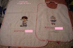 Newborn set with Doc McStuffins embroidery design