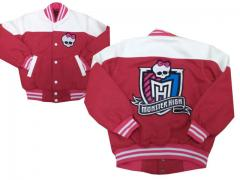 Jackets with Monster High logo embroidery design