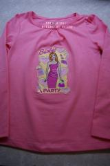 Girl's shirt with Barbie Style embroidery design