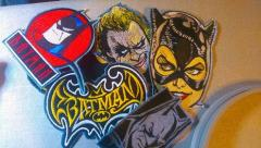 Batman embroidery designs collection