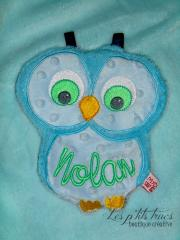 Baby plush free embroidery design - all in the hoop