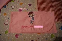 Napkin with Doc McStuffins embroidery design