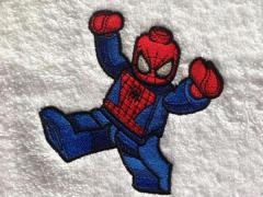 LEGO Spiderman embroidery design