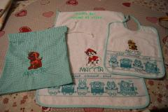 Set with Paw Patrol embroidery designs collection