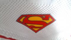 Towel with Superman Logo machine embroidery design