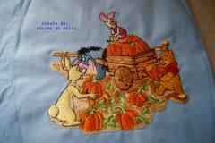Winnie Pooh and company embroidery design