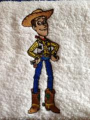 Woody embroidery design