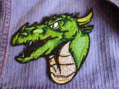 Valley dragon embroidery design