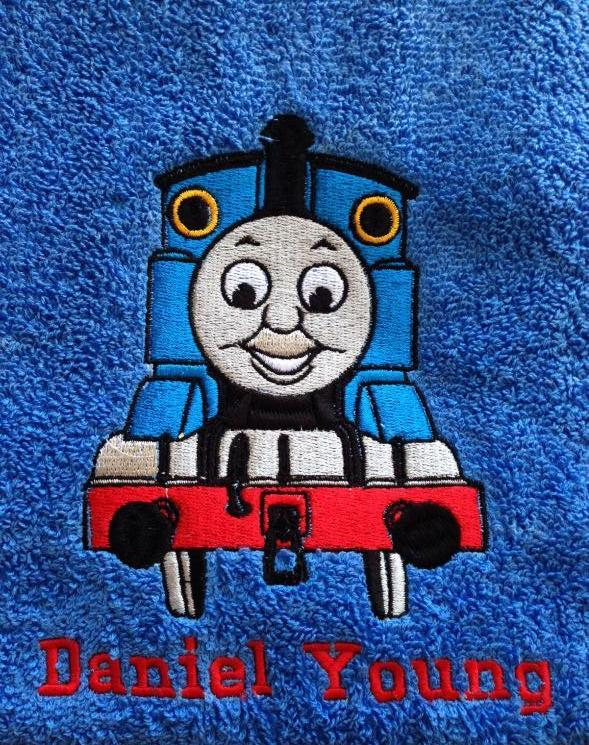 Thomas the Tank Engine embroidery design