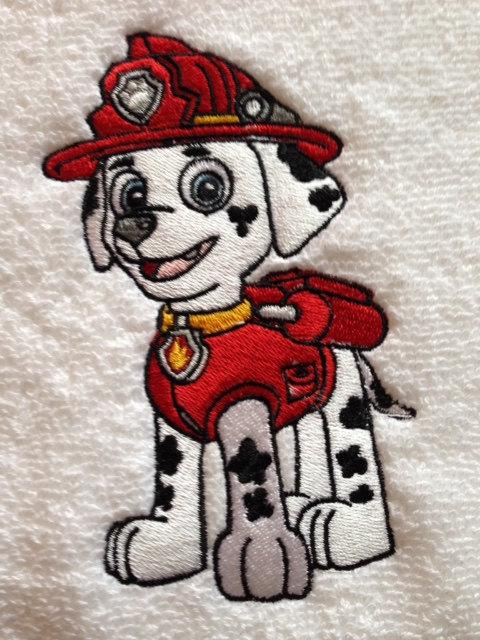 Marshall embroidery design