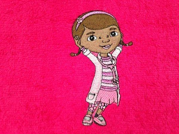 DocMcStuffins embroidery design