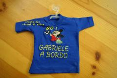 Baby shirt Mickey Mouse Racing embroidery design