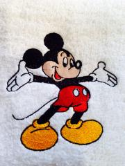 Mickey Mouse Welcome  embroidery design
