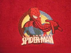 The Amazing Spiderman embroidery design