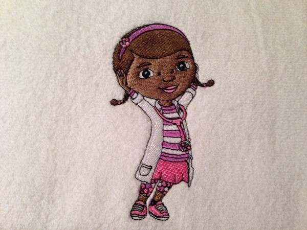 Doc McStuffins embroidery design