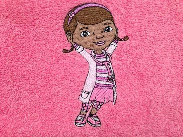 Doc McStuffins embroidery design