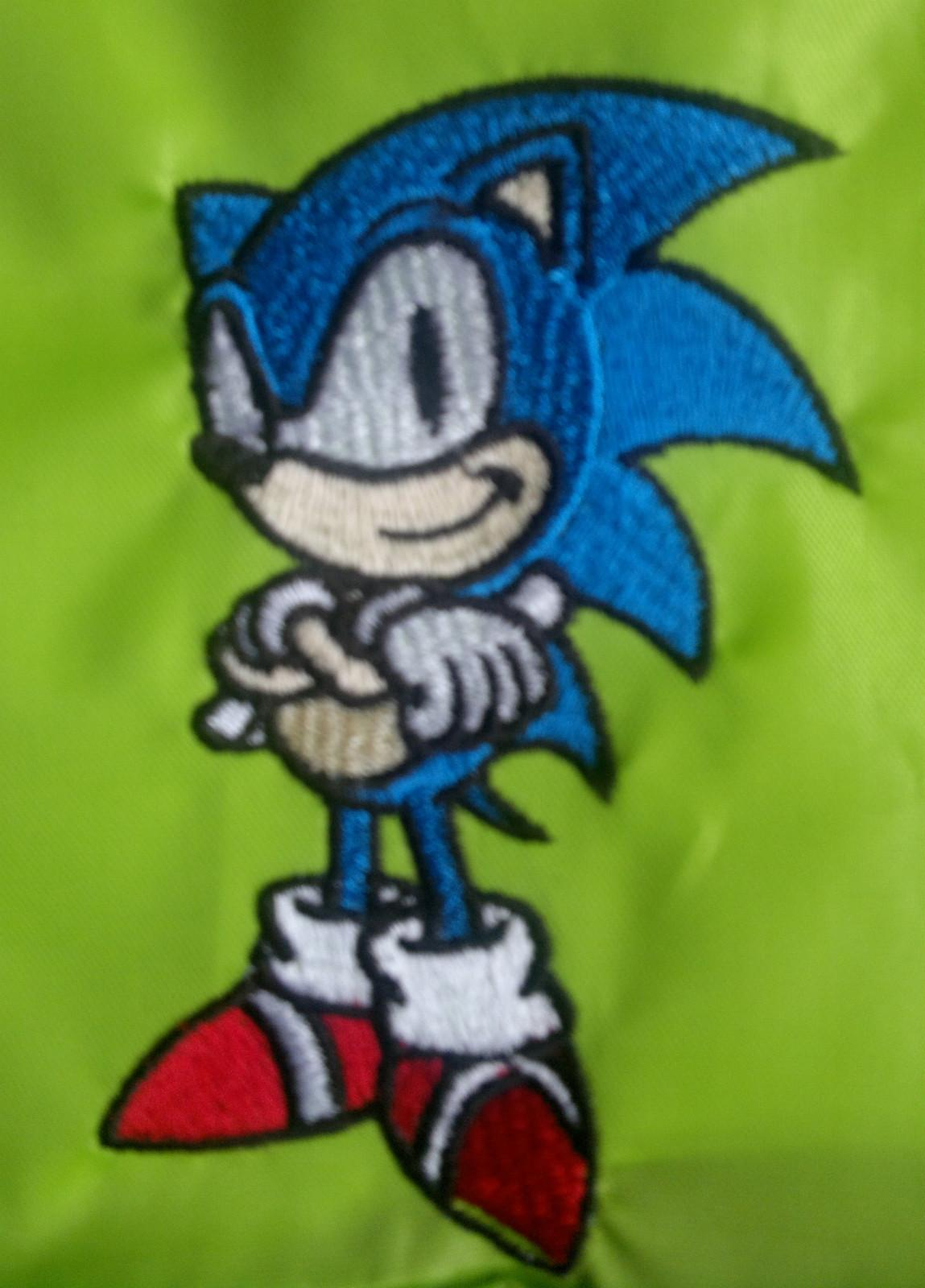Sonic the Hedgehog embroidery design
