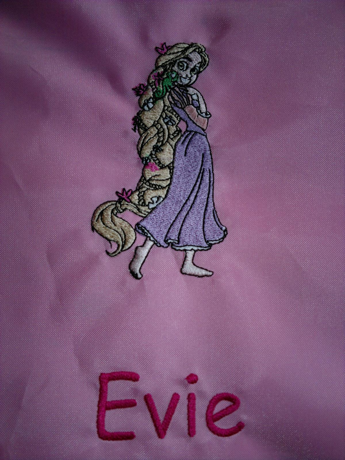 Tangled Beautiful embroidery design