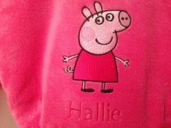 Peppa Pig embroidery design
