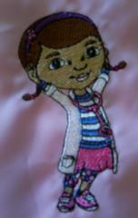 Doc McStuffins machine embroidery design