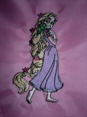 Tangled Beautiful embroidery design