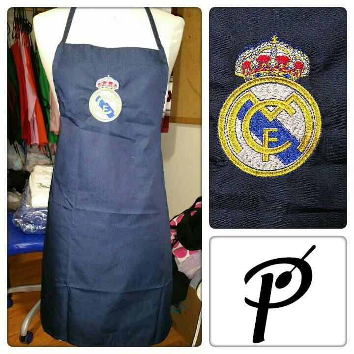 Real Madrid logo machine embroidery design