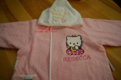 Hello Kitty Baby Bib embroidery design
