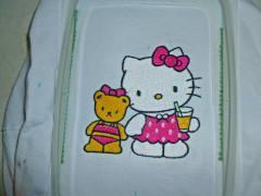 In hoop Hello Kitty We are Friends embroidery design