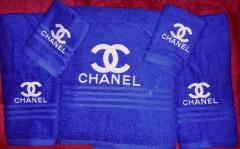 Chanel logo machine embroidery design
