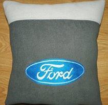 Ford Logo machine embroidery design