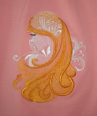 Dream girl free embroidery design