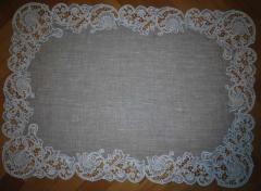 Cutwork napkin machine embroidery designs