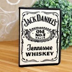 Jack Daniels logo machine embroidery design