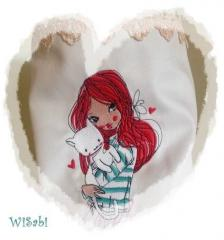 Lovely pet embroidery design