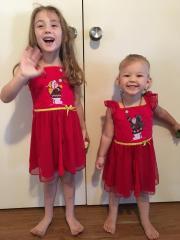 Beautiful granddaughters love their nighties